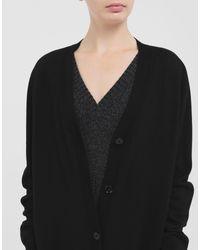 MM6 by Maison Martin Margiela Black Multi-Wear-Cardigan-Kleid