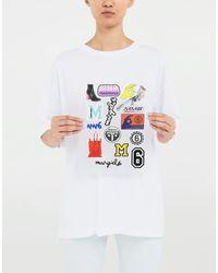 T-shirt personnalisable MM6 by Maison Martin Margiela en coloris White