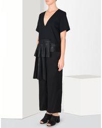 MM6 by Maison Martin Margiela - Black Jumpsuits - Lyst