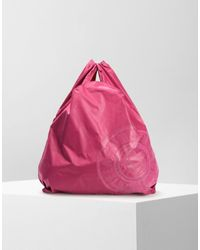 Mm6 By Maison Martin Margiela Mm6 Logo Shopping Bag in Pink - Lyst 06a10f7556d