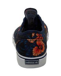 Adidas Originals - Blue Skateboarding Adi-ease Trainers Night Indigo/white/silver Metallic - Lyst