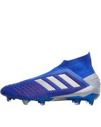 Chaussures de Foot Predator 19+ FG Cobalt Adidas pour homme en coloris Blue