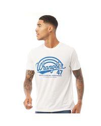 Wrangler Americana T-Shirt Weiß in White für Herren