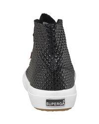 Superga 2795 Quiltpatentw Hi Tops Black for men
