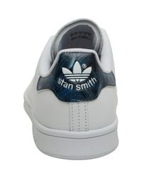 Adidas Originals - Stan Smith 'geology Pack' Trainers White/white/night Indigo - Lyst