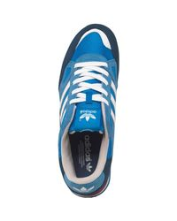 Baskets ZX 750 Bleu Moyen Daim adidas Originals pour homme en ...