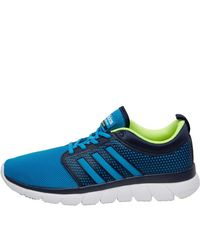 Adidas Neo Synthetic Cloudfoam Groove Trainers Collegiate Navy ...