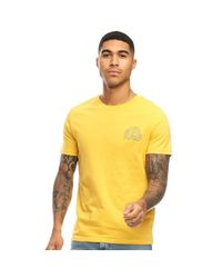 Jack & Jones Originals Malibu Club T-Shirt Hellgelb in Yellow für Herren