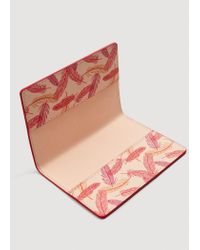 Mango - Pink Passport Holder - Lyst
