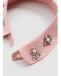 Mango - Pink Neck-warmer - Lyst