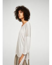 Mango   White T-shirt   Lyst