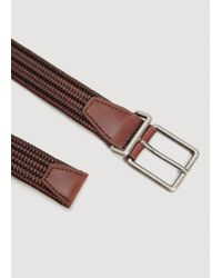Mango - Brown Belt Mch for Men - Lyst