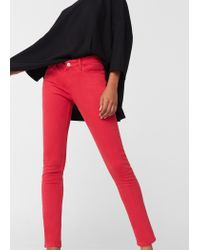Mango | Red Skinny Paty Jeans | Lyst