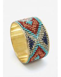 Mango - Metallic Bracelet - Lyst