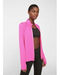Mango | Pink Ultra-light Running Jacket | Lyst