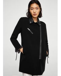 Mango Black Coat