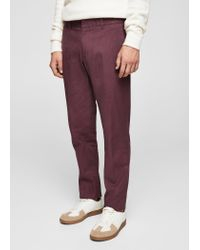 Mango - Multicolor Slim-fit Cotton Chinos for Men - Lyst