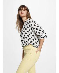 Violeta by Mango - Multicolor Slim-fit Julia Jeans - Lyst