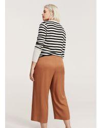 Violeta by Mango - Brown Trousers - Lyst