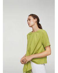 9372a88655 Lyst - Mango Blouse in Green