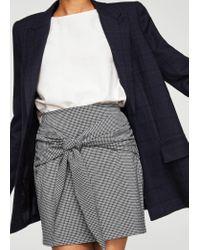 Mango - Black Skirt - Lyst