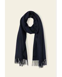 Mansur Gavriel Multicolor Cashmere Winter Scarf - Blu