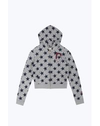 Marc Jacobs - Gray Stars Double J Hoodie - Lyst
