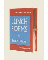 Marc Jacobs Multicolor Lunch Poems Book Purse By Olympia Le-tan