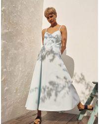 Three Graces London Blue Aveline Dress