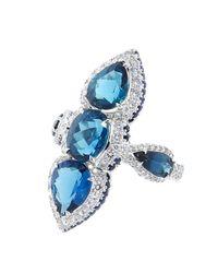 Inbar - Blue Tourmaline Ring - Lyst