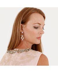 Larkspur & Hawk - Metallic Antoinette Suspended Girandole Earrings - Lyst