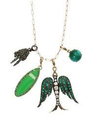 GEMFIELDS X MUSE - Metallic Chain Necklace - Lyst
