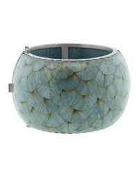 Silvia Furmanovich - Marquetry Light Blue Cuff Bracelet - Lyst