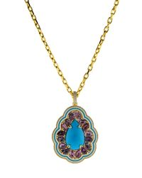 Buddha Mama - Multicolor Sleeping Beauty Turquoise Pendant - Lyst