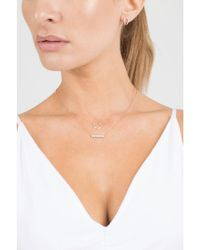 Dana Rebecca - Metallic Opal And Diamond Pave Heart Necklace - Lyst