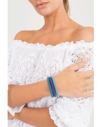 Carolina Bucci - Blue Turquoise Twister Band Bracelet - Lyst