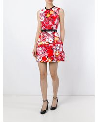 Victoria, Victoria Beckham | Structured Floral Dress | Lyst