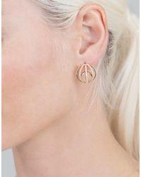 Dana Rebecca - Metallic Isla Rio Diamond Pave Earrings - Lyst
