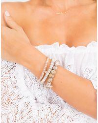 Sydney Evan - Metallic Diamond Pave Butterfly Charm Bracelet - Lyst