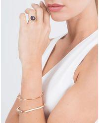 Monique Péan - Hexagonal Blue Sapphire And White Diamond Ring - Lyst
