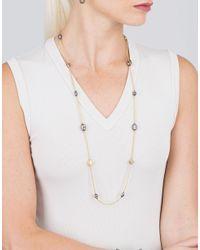 Yossi Harari Metallic Helen Mini Wrap Necklace