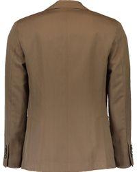 Brunello Cucinelli Brown Suit Type Jacket for men
