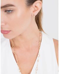 Monique Péan - Metallic Geometric Signature Cage Earrings - Lyst