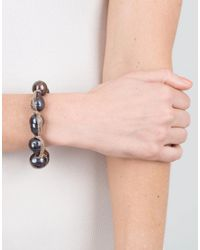Jordan Alexander Blue Navy Baroque Pearl Bracelet