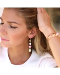 Irene Neuwirth - Multicolor Beryl And Pink Opal Earrings - Lyst