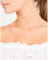 Sydney Evan - Metallic Small Diamond Cross Necklace - Lyst