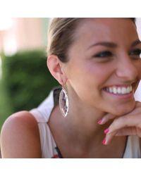 Irene Neuwirth Pink Rose Cut Rose De France Earrings
