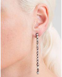 Yossi Harari - Metallic Cascade Long Drop Earrings - Lyst