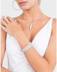 Mattia Cielo - Metallic Ghiaccio Diamond Pave Pendant Necklace - Lyst