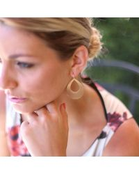 Irene Neuwirth - Metallic Pear Shape Earrings - Lyst